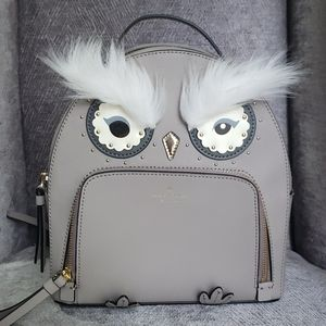 NEW Kate Spade Star bright Owl backpack